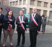 Hommage au victime de l'incendie rue Paul Eluard
