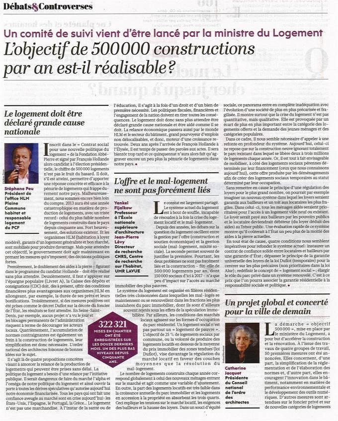 500 000 logements